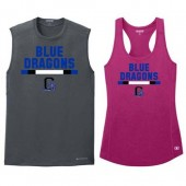 Garretson High School Fall Webstore 05 OGIO® ENDURANCE Sleeveless Pulse Crew/ Ladies Racerback Pulse Tank