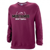 Morningside Softball 2018 08 Russell Dri Power Crewneck Sweatshirt