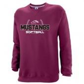 Morningside Softball 2018 08 Russell Dri Power Crewneck Sweatshirt