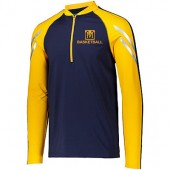 Mount Marty Men's Basketball 2017 Fan Webstore 08 Holloway Flux ½ Zip Pullover