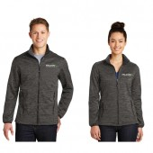 Falcon Plastic Fall 2017 08 Men's & Women's Sport-Tek® PosiCharge® Electric Heather Soft Shell Jacket