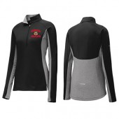 BHS FCCLA/Bobcat Holiday Apparel 2017 08 Sport Tek Ladies Contrast ½ Zip (More Fitted Size)