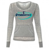Power and Grace Gymnastics 08 Women's Thermal Acid Wash Longsleeve