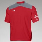 NWC Softball Fan 2016 08 UA Triumph Cage Jacket – Short Sleeve