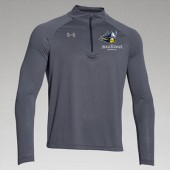 Augustana Wrestling 2016 08 UA Mens Striped ¼ Zip
