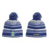 SDSU Flying Jacks Aviation Club 08 New Era Pom Pom Beanie
