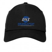 Dedicated Networks 08 New Era Structured Stretch Cotton Baseball Cap