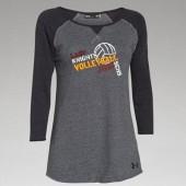 SCHS Volleyball 09 UA Ladies ¾ Tee