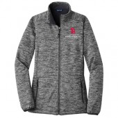 USD Law Fall 2017 09 Sport-Tek® Ladies PosiCharge® Electric Heather Soft Shell Jacket
