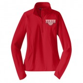 South Dakota Venom Winter 2017 09 Women's Sport-Tek® Sport-Wick® Stretch 1/2-Zip Pullover