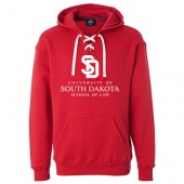 USD Law School 2016_2 09 Hockey Sweatshirt with corresponding laces