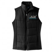 SDSU AST ABE 09 Mens and Ladies Puffy Vest