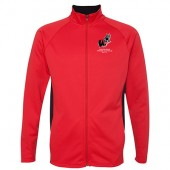 Omaha Westside Track & Field 09 Champion Men's Performance Colorblock Full-Zip Jacket