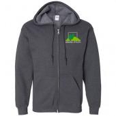 Ground Effects Employee 2017 09 Gildan Heavy Blend Full-Zip Hooded Sweatshirt