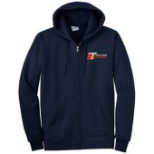 Sioux Automation 13 Port Authority TALL Full Zip Hoodie